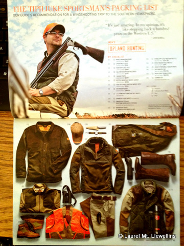 "Eddie Bauer's ""The Tipiliuke Sportsman's Packing List"""