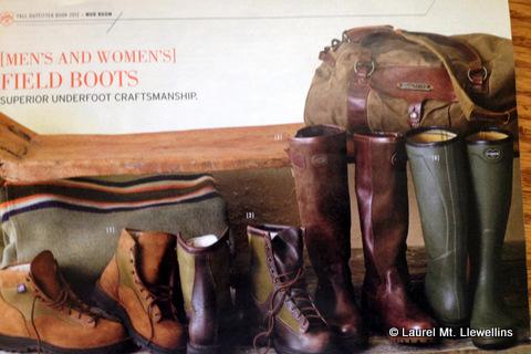 Eddie Bauer's Upland Boots