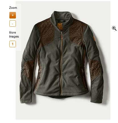 Eddie Bauer Sporting Fleece Jacket