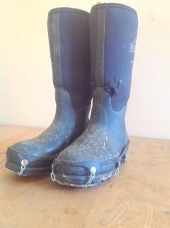 My very worn Muck Boots