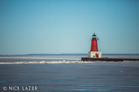 By Nick Lazur: Menominee, MI Lighthouse