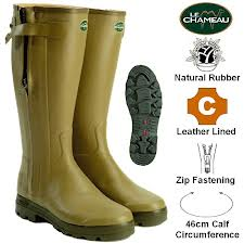 Le Chameau Chasseur Leather Hunting Boot