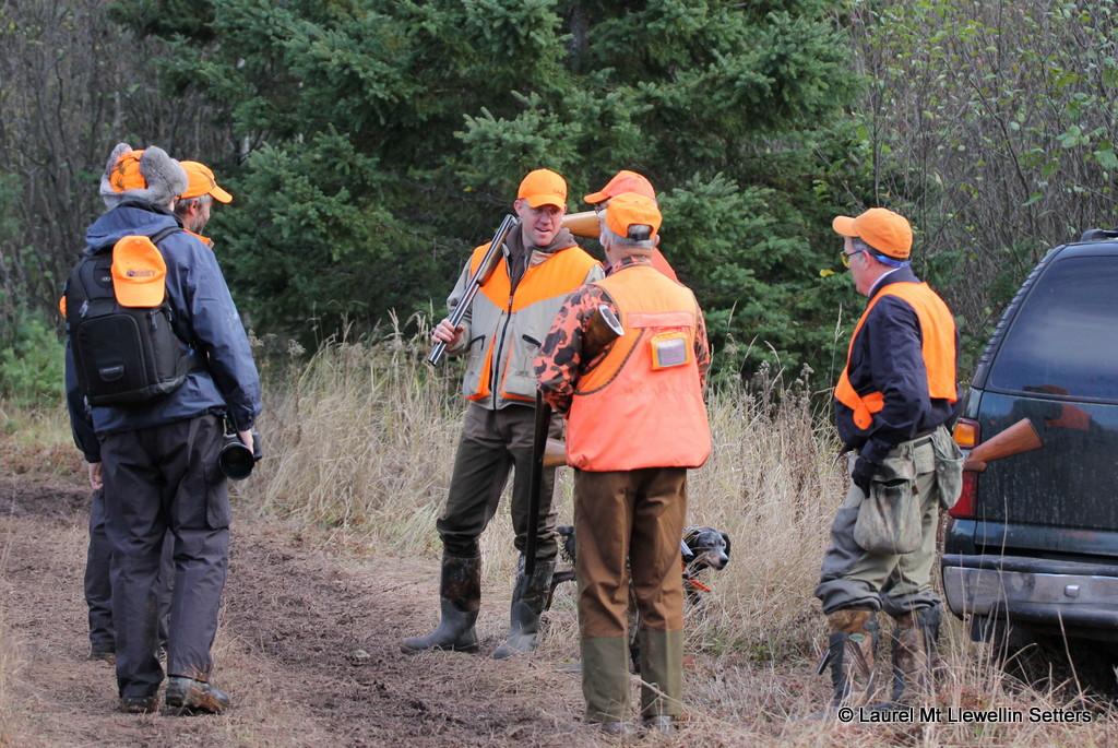 BS'ing between hunts...