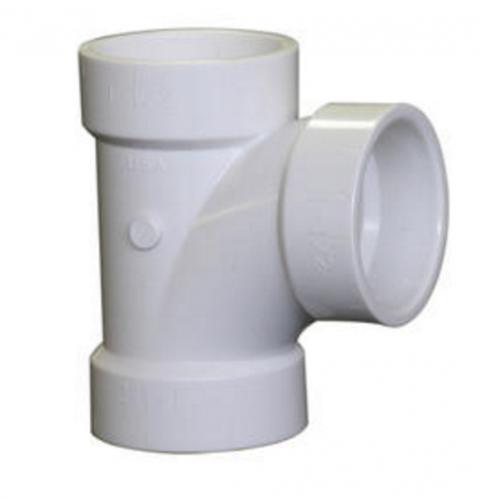 "4 – 2"" PVC-DWV Sanitary Tee (4@ $1.99 = $7.99)"
