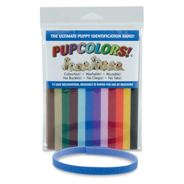 Reusable Puppy ID Collars